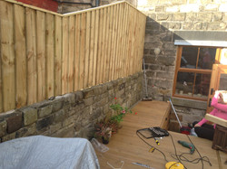 Made to measure fence
