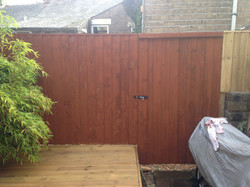 Made to measure fence and gate