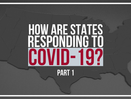 How are States Responding to COVID-19?: Exploratory Questions, Descriptive Statistics & Correlat