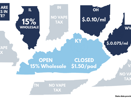 Kentucky's New Vape Taxes are some of the Highest in the Country