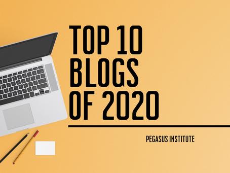 Top 10 Pegasus Institute Blogs of 2020