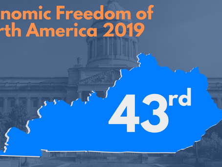 Kentucky Ranked 43rd in Economic Freedom in New Report