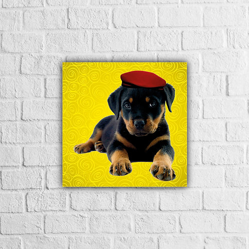 Placa Decorativa Cachorro - A partir de