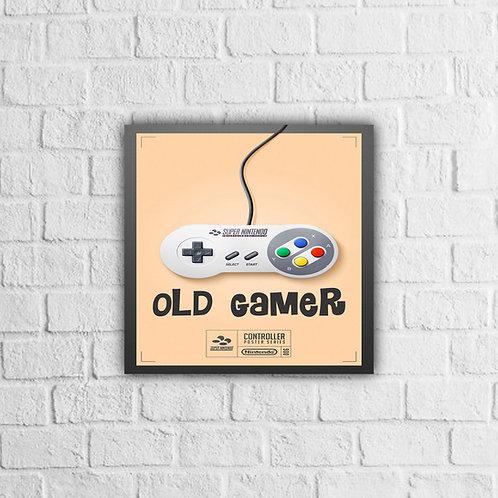 Placa Decorativa Games