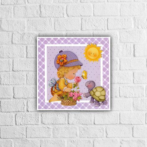Placa Decorativa Infantil