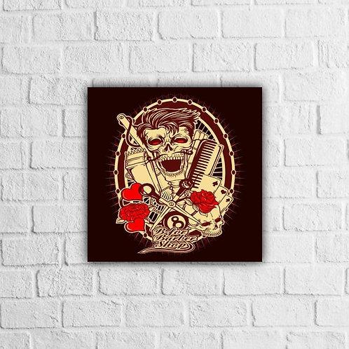 Placa Decorativa Caveira - A partir de
