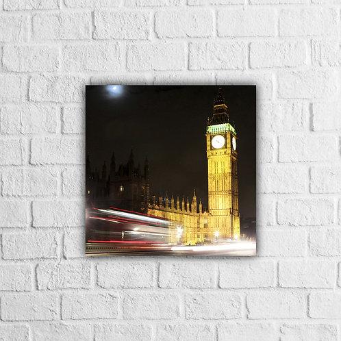 Placa Decorativa Cidades