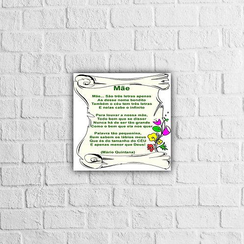 Placa Decorativa Mãe