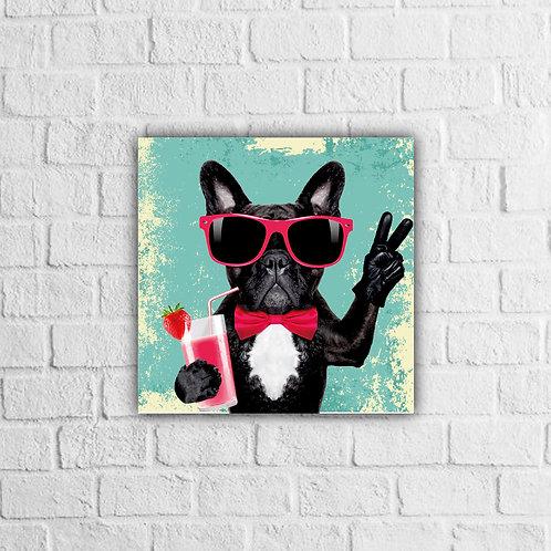 Placa Decorativa Cachorro - A partir de