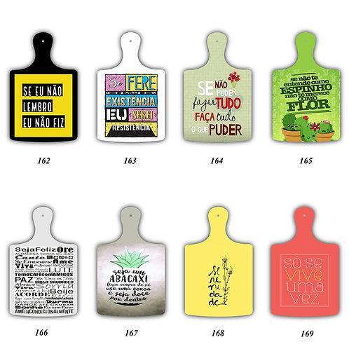 Tag Tabua de Carne decorativa - Frases Diversas.