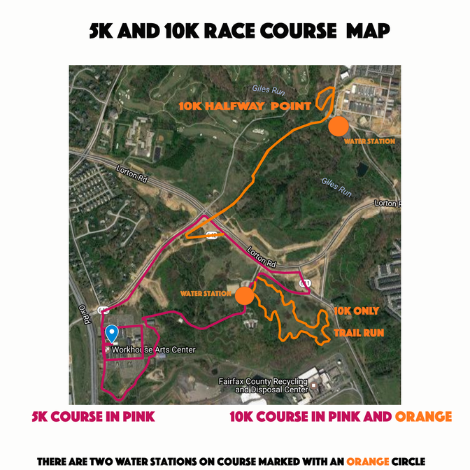 Quick View 5K and 10K Course