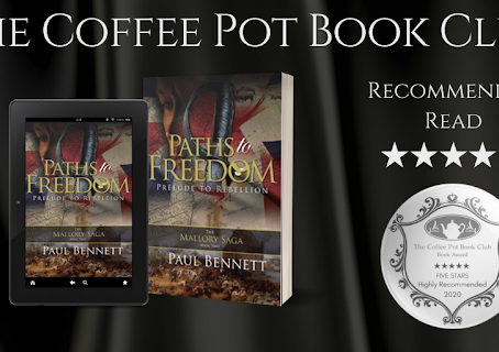 #BookReview — Paths to Freedom (The Mallory Saga #2) by Paul Bennett
