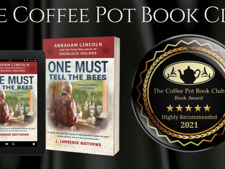#BookReview - One Must Tell the Bees by J. Lawrence Matthews @JLawrenceMatth1