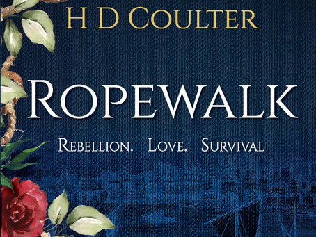 Blog Tour: Ropewalk; Rebellion. Love. Survival, The Ropewalk series, By H D Coulter