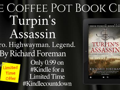 Author Interview: Richard Foreman, author of Turpin's Assassin @SharpeBooks