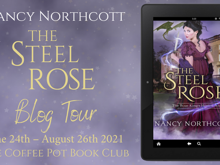 Read an excerpt from The Steel Rose by Nancy Northcott @NancyNorthcott