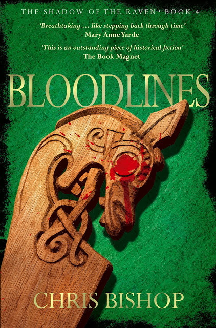 Bloodlines (The Shadow of the Raven, Book 4) by Chris Bishop