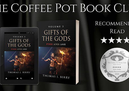 Book Review: Fire and Ash (Gifts of the Gods, Book 3) by Thomas J Berry.
