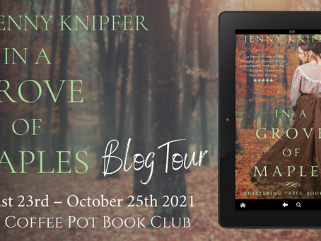 Read an #excerpt from In a Grove of Maples by Jenny Knipfer @JennyKnipfer