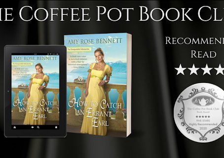 Book Review: How to Catch an Errant Earl (The Disreputable Debutantes #2) by Amy Rose Bennett.
