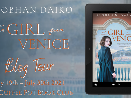 Read an excerpt from Siobhan Daiko's fabulous book, The Girl from Venice @siobhandaiko