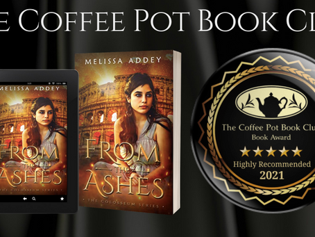 Book Review:  From the Ashes (The Colosseum Book 1) by Melissa Addey