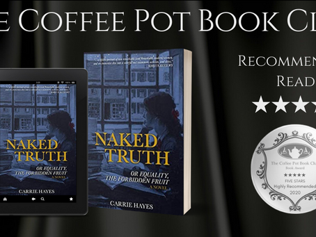 #BookReview — Naked Truth or Equality, the Forbidden Fruit by Carrie Hayes