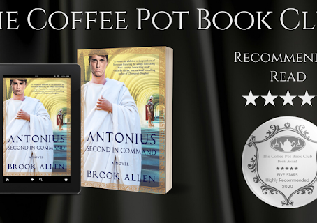 #BookReview — Antonius: Second in Command (Antonius Trilogy, #2) by Brook Allen