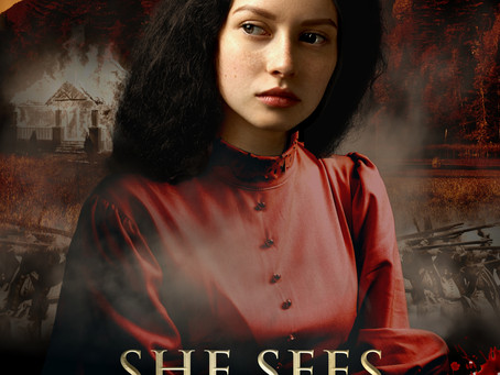 BOOK BLAST: She Sees Ghosts, by David Fitz-Gerald, December 29th - January 1st 2021