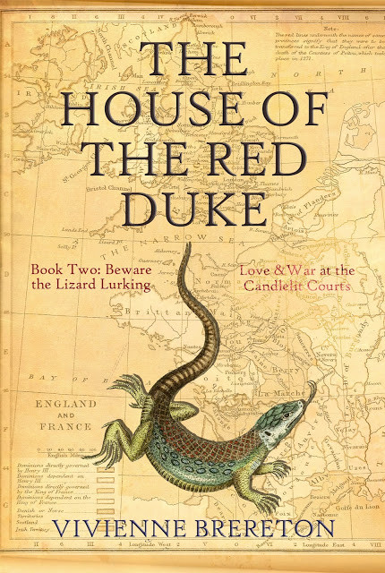 Beware the Lurking Lizard (The House of the Red Duke, Book 2) by Vivienne Brereton