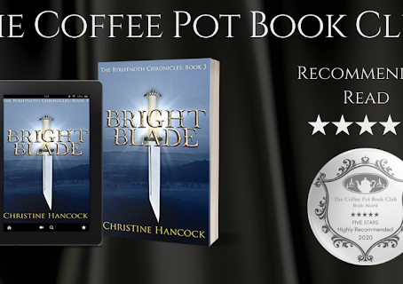 #BookReview — Bright Blade (The Byrhtnoth Chronicles, Book #3) by Christine Hancock