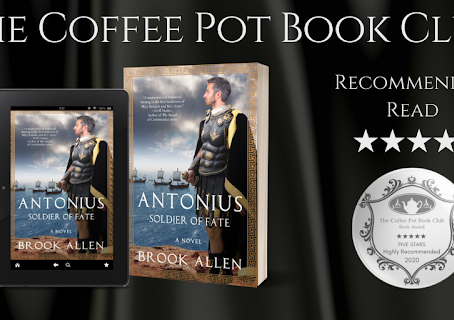 Book Review: Antonius: Soldier of Fate (The Antonius Trilogy, Book 3) by Brook Allen