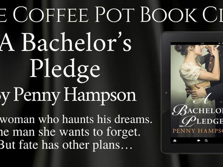 Read an excerpt from Penny Hampson's fabulous book — A Bachelor's Pledge @penny_hampson