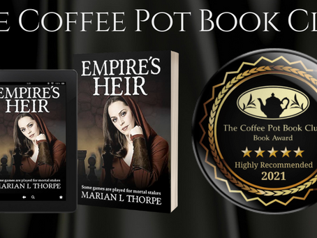 #BookReview - Empire's Heir (Empire's Legacy Book 6) by Marian L Thorpe @marianlthorpe