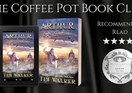 Book Review: Arthur Rex Brittonum (A Light in the Dark Ages) by Tim Walker