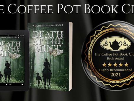 #BookReview - Death at the Mint (A Wulfstan Mystery, Book 1) by Christine Hancock @YoungByrhtnoth