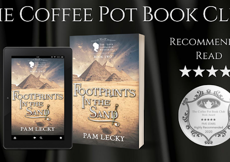 Book Review: Footprints in the Sand (The Lucy Lawrence Mysteries Book 2) by Pam Lecky.