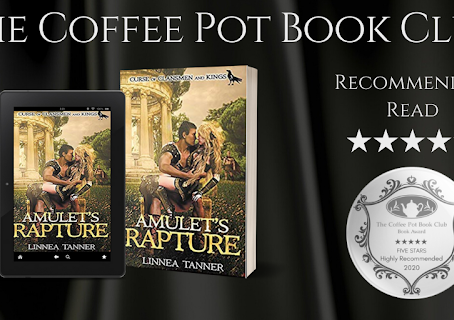 #BookReview — Amulet's Rapture (Curse of Clansmen and Kings #3) by Linnea Tanner