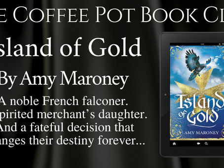 Read an excerpt from Amy Maroney's upcoming novel - Island of Gold @wilaroney