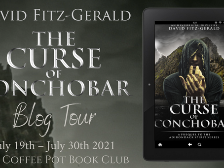 Read an excerpt from The Curse of Conchobar by David Fitz-Gerald @AuthorDAVIDFG