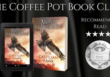 Book Review: His Castilian Hawk (The Castilian Saga, Book 1) by Anna Belfrage
