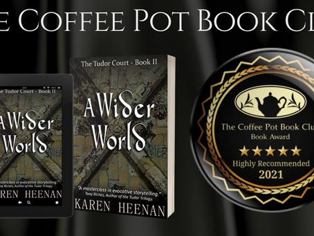 #BookReview - A Wider World (The Tudor Court, Book 2) by Karen Heenan @karen_heenan