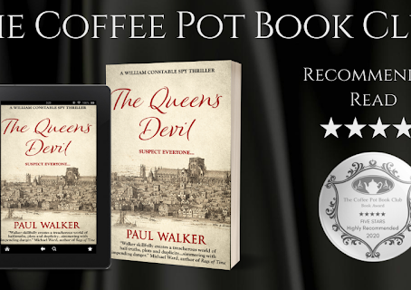 Book Review: The Queen's Devil (A William Constable Spy Thriller Book #3) By Paul Walker.