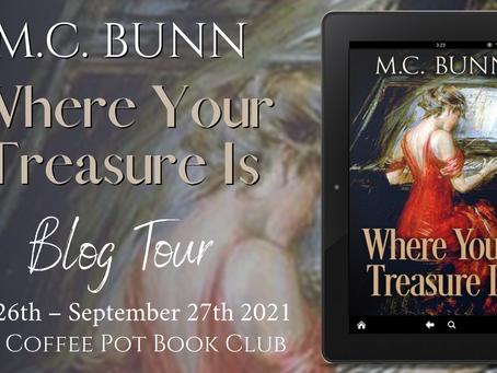 Read an #Excerpt from M. C. Bunn's fabulous novel - Where Your Treasure Is @MCBunn3