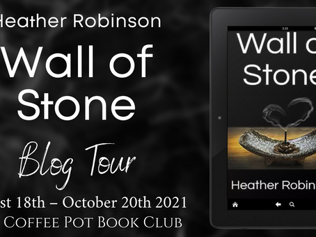 Read an #excerpt from Heather Robinson's fabulous book -  Wall of Stone @HevRob1