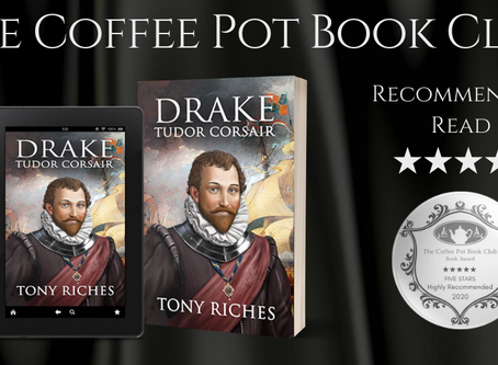 Book Review: Drake - Tudor Corsair (The Elizabethan Series Book 1) By Tony Riches