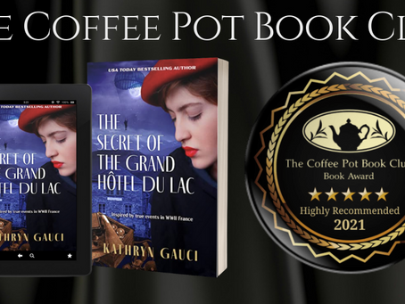 Book Review: The Secret of the Grand Hôtel du Lac by Kathryn Gauci