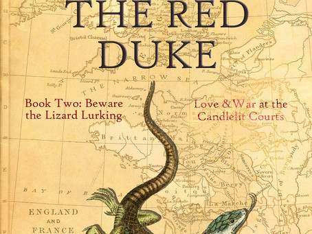 Blog Tour: Beware the Lizard Lurking (The House of the Red Duke, Book 2) by Vivienne Brereton.