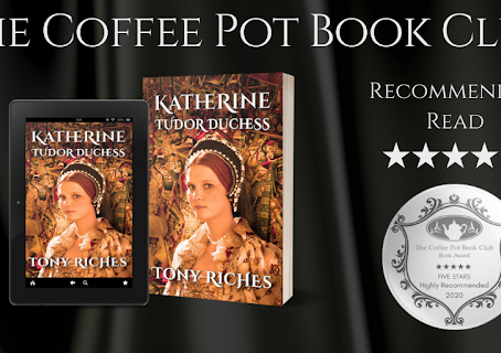 #BookReview — Katherine: Tudor Duchess (Brandon Trilogy #3) by Tony Riches