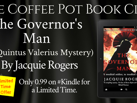 The Governor's Man: A Quintus Valerius Mystery by Jacquie Rogers @rogers_jacquie @SharpeBooks